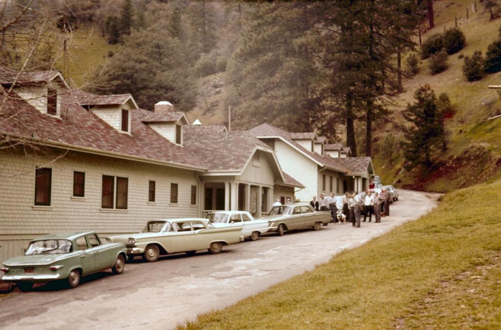 Tiger Creek Camp. April 1963.