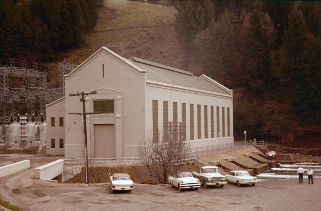 Tiger Creek Powerhouse. April 1963.